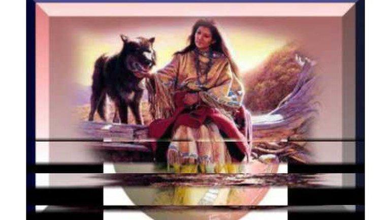 Jana Mashonee - O' holy night (chanté en navajo)