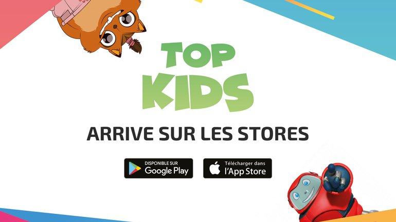 L'appli du Top pour les enfants est sur les stores !