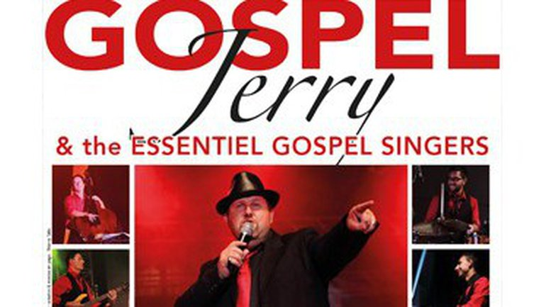 Jerry and The Essentiel Gospel Singers en concert à Lons le 20 décembre 2014