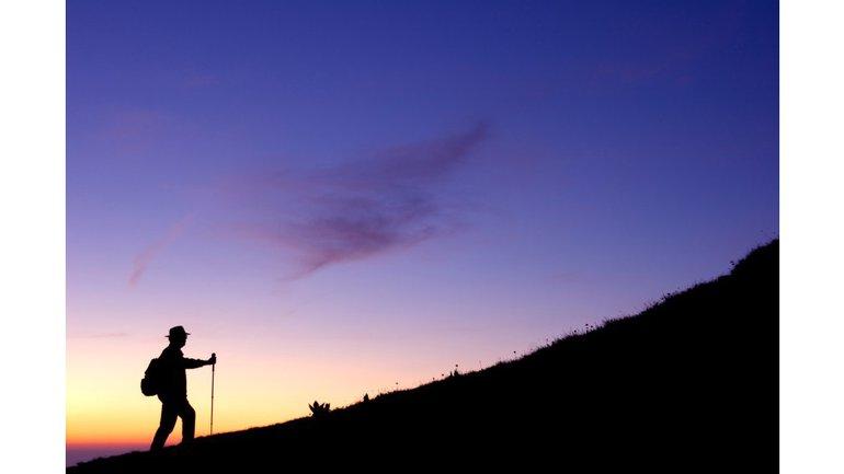 La montagne sainte de Dieu