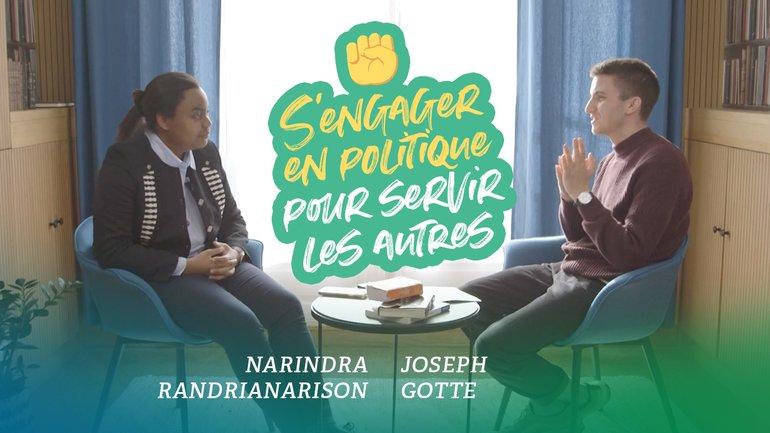 Jeunes en politique : pourquoi s'engagent-ils ? - Narindra Randrianarison et Joseph Gotte