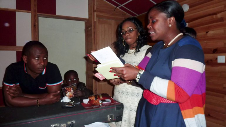 Chant d'intercession inspiré pour la paix en Côte d'Ivoire