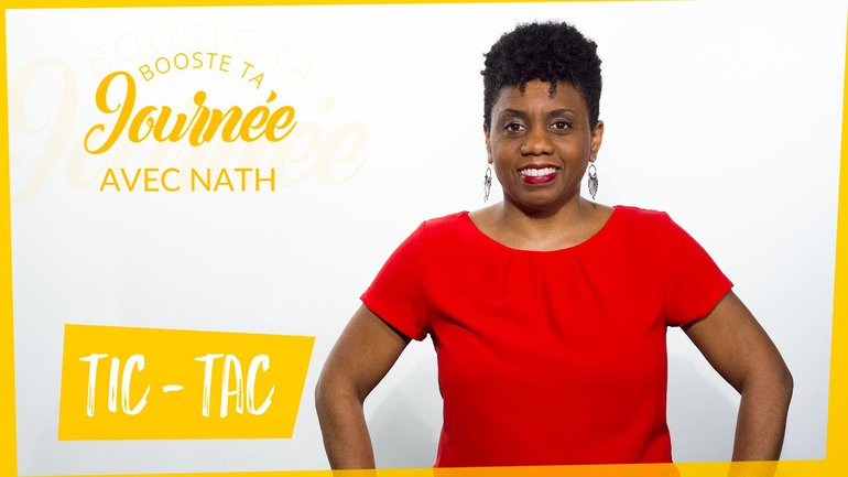 Booste ta journée - Nathalie Almont - Tic Tac