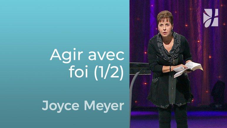Vous ne pouvez pas vaincre le diable la bouche fermée (1/2) - Joyce Meyer - Grandir avec Dieu