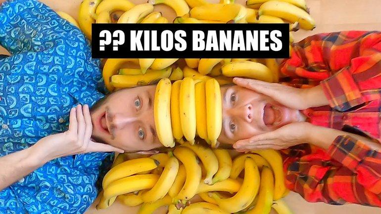 Combien il reste de banane si on enlève la peau ?!?