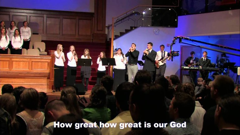 Sulamita Youth Choir - How Great is Our God