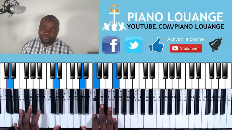 Exemples d'accords de passage #1 - PIANO GOSPEL
