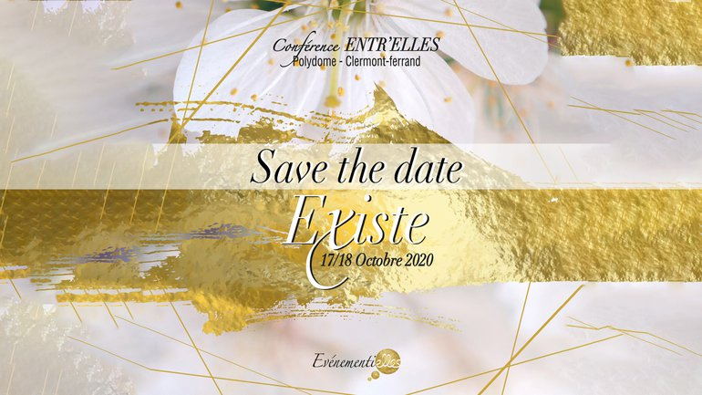 💫 Conférence Nationale Entr'elles 2020 🔔 Save the date !