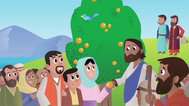 Le Roi et son Royaume - La Bible App pour les Enfants - Histoire 23