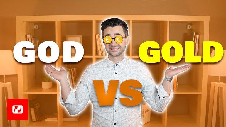 God or gold ? Dieu ou Mamon ?