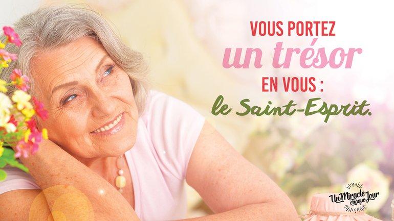 Vous êtes l'adresse du Saint-Esprit ! 📮