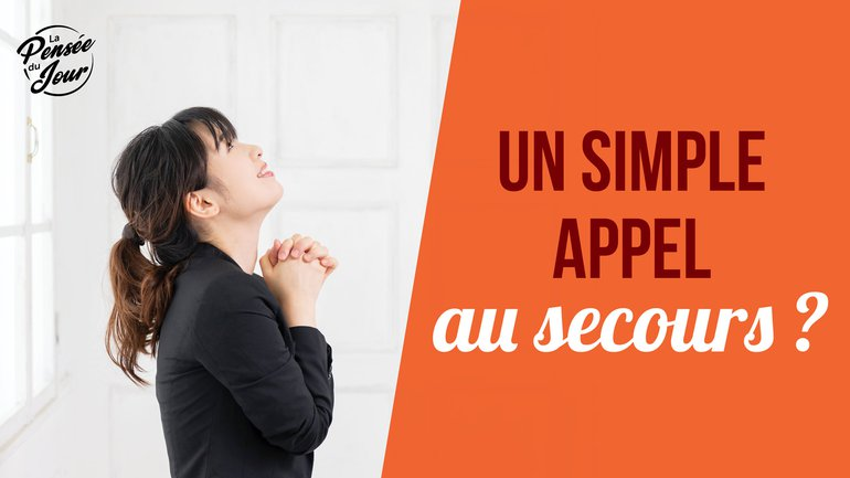 Un simple appel au secours ?