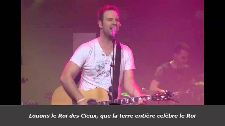 Roi des Cieux - Dan Luiten et Luc Dumont - Live - Paroles