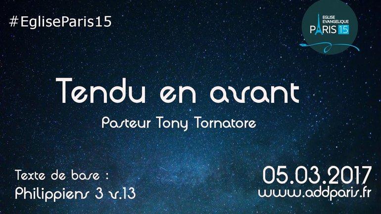 """""""Tendu en avant"""" - Tony Tornatore"""