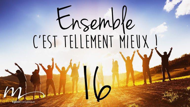 Ensemble Méditation 16 - 1 Pierre 4.10 - Église M