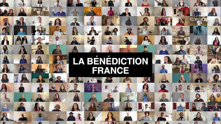 La Bénédiction France - Les églises chantent une bénédiction sur les habitants de la nation