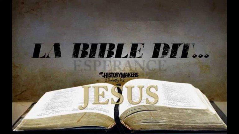 Bande-annonce de la chaîne Youtube La Bible Dit TV