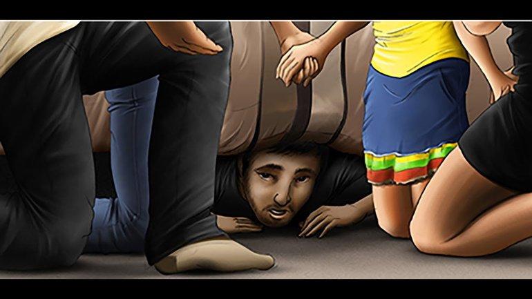 Caché sous le lit ! (37)