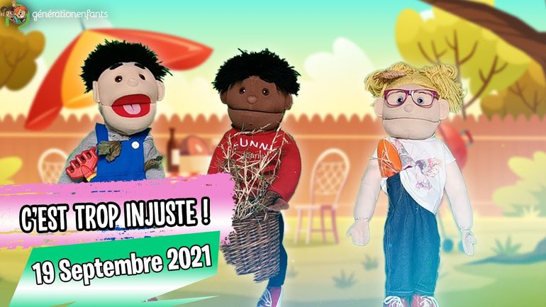 """Culte Génération Enfants du 19 septembre 2021 """"C'est trop injuste"""""""
