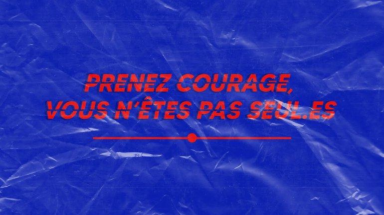 Prenez courage, vous n'êtes pas seul !