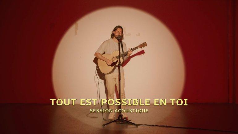 Tout est possible en toi (session acoustique) - la Chapelle Musique et Philippe Joseph Bédard
