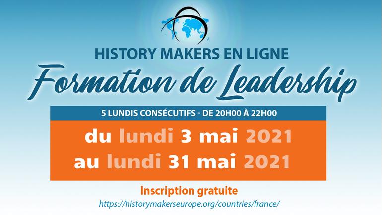 👩🎓 👨🏻🎓 Développez votre leadership avec la formation de History Makers !