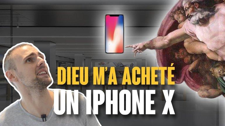 DIEU M'A ACHETÉ UN IPHONE X (TÉMOIGNAGE)