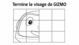 Termine le visage de Gizmo