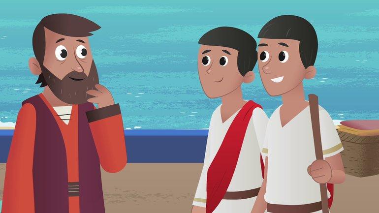 Bienvenue à tous! - La Bible App pour les Enfants - Histoire 38