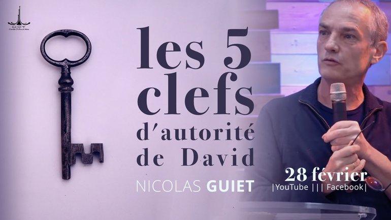 Les 5 clefs d'autorité de David par Nicolas Guiet   ACT