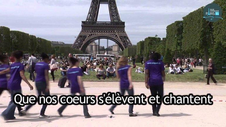 Jésus Sauve - Dan Luiten - Chorégraphie Eglise ADD Paris 15