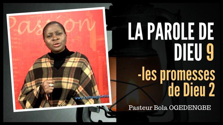 Olivia Bola Ogedengbe - Les promesses de Dieu (2)