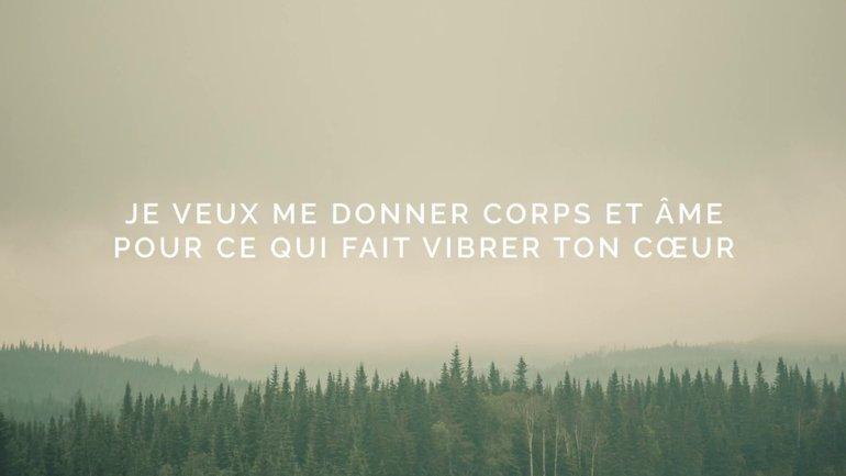 Consécration (Paroles) — Axe21 Musique