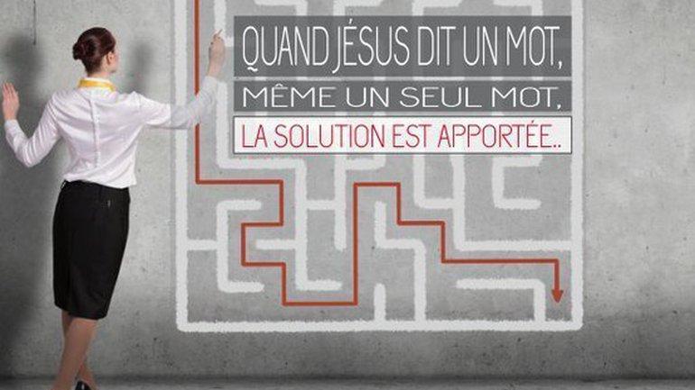 Jésus dit un mot sur votre vie Mon ami(e)