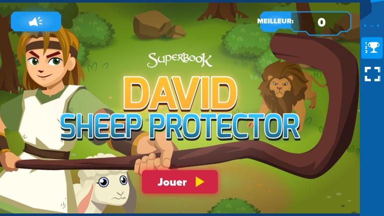 David, protecteur des brebis