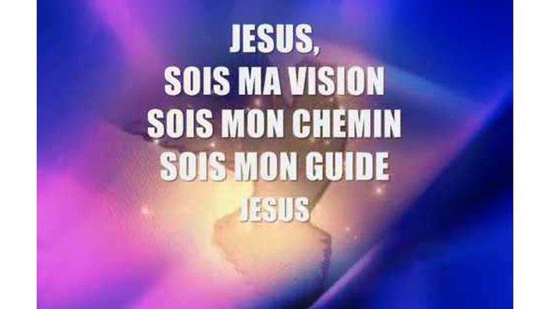 Jésus, sois le centre