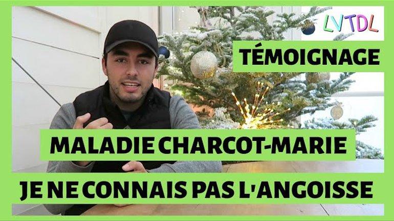 Maladie Charcot-Marie - Je ne connais pas l'angoisse, témoignage d'Ayrton