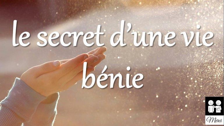 """Le secret d'une vie bénie : le """"Re'shiyth"""" - Ivan Carluer"""