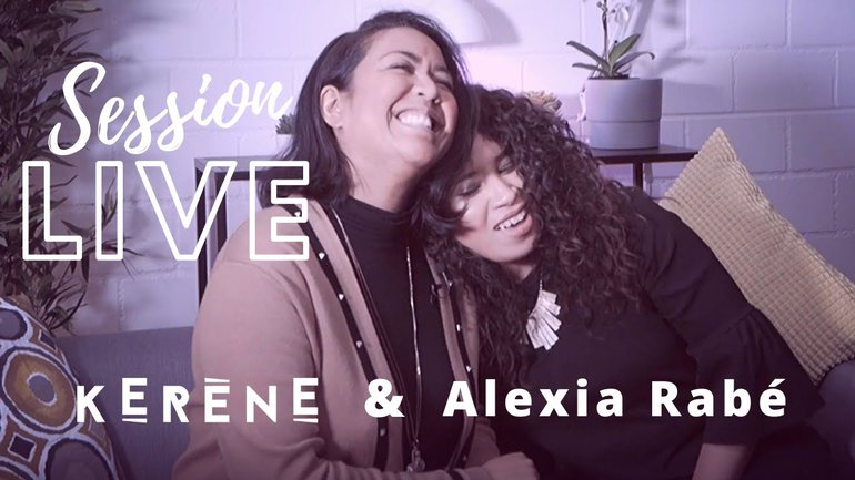 LIVE SESSION - HE KNOWS MY NAME (in french) feat ALEXIA RABÉ | Israel Houghton