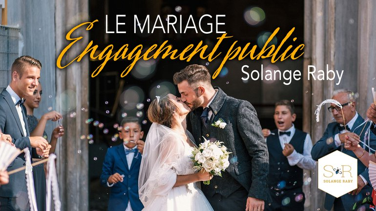 Le mariage, un engagement public