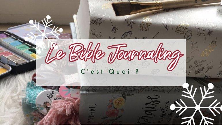 C'est QUOI le Bible Journaling ?? Art et Foi - Andrea Naomie