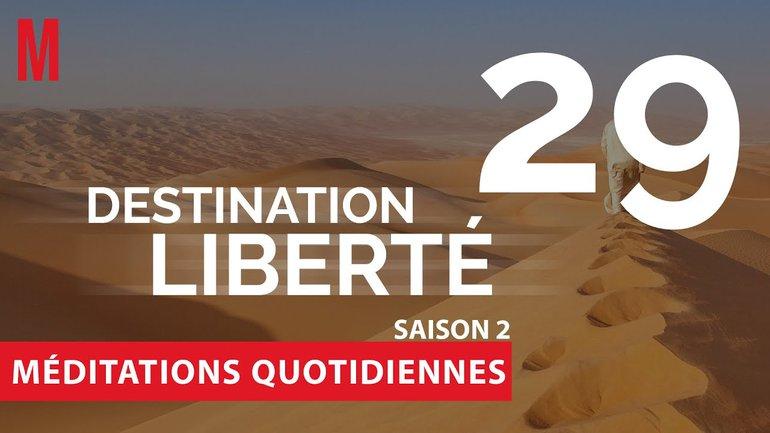 Destination Liberté (S2) Méditation 29 - 2 Corinthiens 9.6-14 & Galates 5.14 - Église M