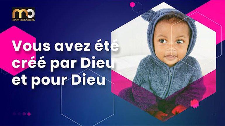 Pourquoi Dieu vous a-t-il créé ? - Rick Warren en français - Traduction Maryline Orcel