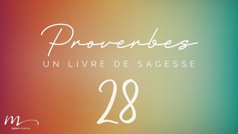 Proverbes Méditation #28 - Jéma Taboyan - Proverbes 22.17-23.14