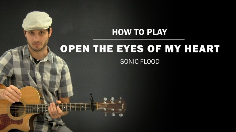 Ouvre les yeux de mon coeur - Paul Baloche - Tutoriel Guitare 3