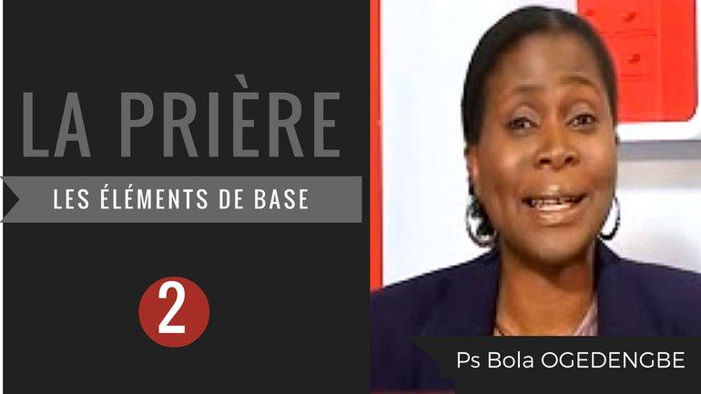 Olivia Bola Ogedengbe - La prière (2)