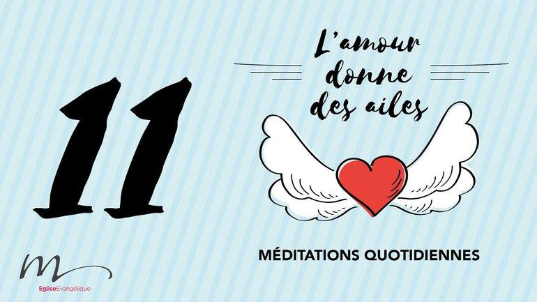 L'amour Méditation 11 - Supportez-vous ! - Éphésiens 4.29 & 1 Corinthiens 13.1 - Église M