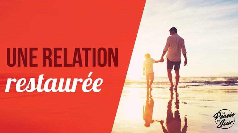 Une relation restaurée