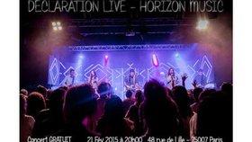 Concert Déclaration Live le 21 février à Paris