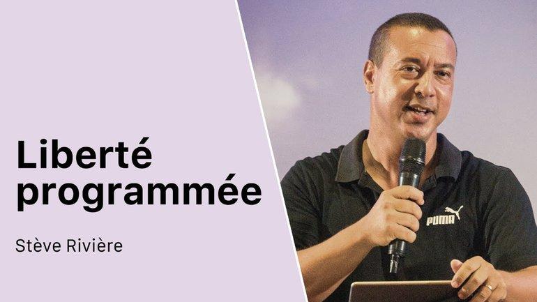 LIBERTÉ PROGRAMMÉE   Stève Rivière